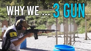Why We 3 Gun: An Expert and Newbie Discuss The Sport