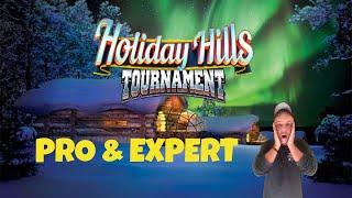 Golf Clash tips, Playthrough, Hole 1-9 - PRO & EXPERT - Holiday Hills Tournament!