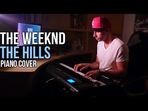 the weeknd the hills piano cover by marijan sheets. Black Bedroom Furniture Sets. Home Design Ideas