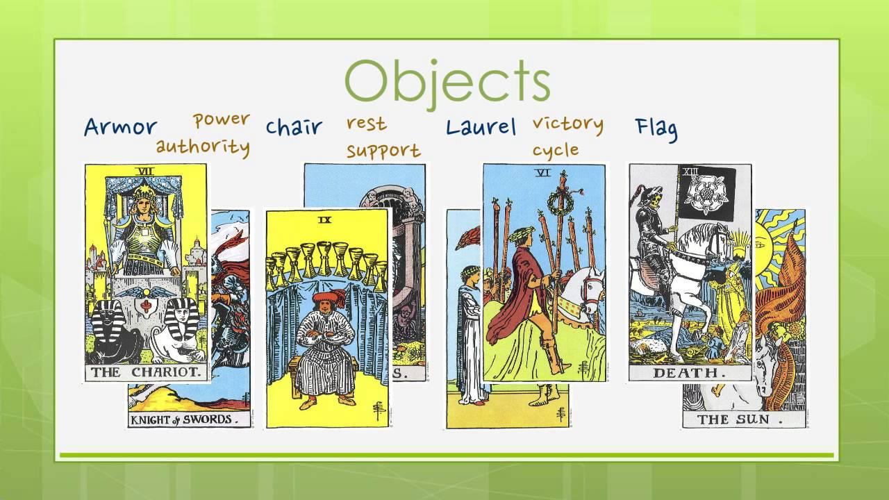 Reading Tarot Cards Symbols In Tarot 2 Youtube