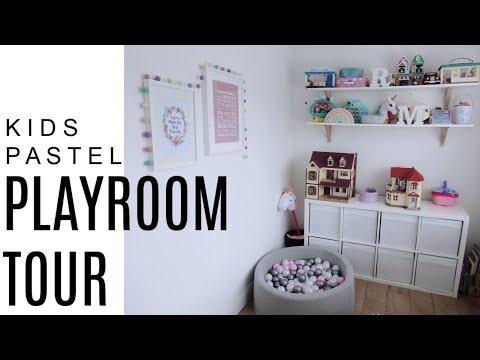 KIDS PLAYROOM TOUR | & GIVEAWAY