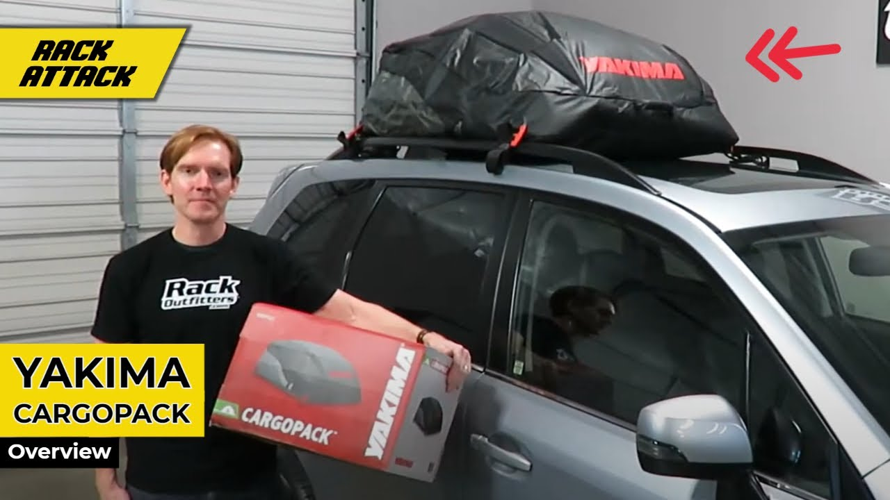 Yakima Cargopack Roof Top Bag Cargo Luggage Carrier Overview