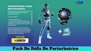 Fortnite New Pack A 10 Euros Pack Of Perturbating Challenges - 1,000 V-Bucks !!!