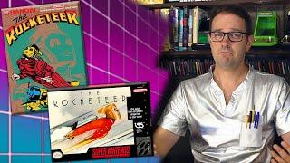 The Rocketeer (NES & SNES) - Anġry Video Game Nerd (AVGN)
