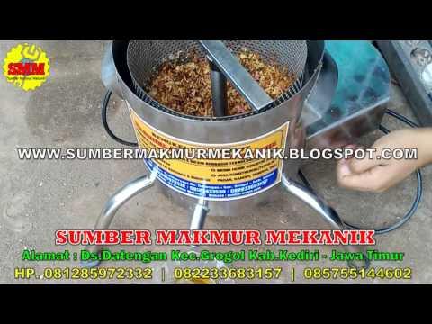 Mesin Spinner Peniris Minyak Pengetus Minyak Pada Bawang Goreng Keripik Buah Jamur Usurs Goreng