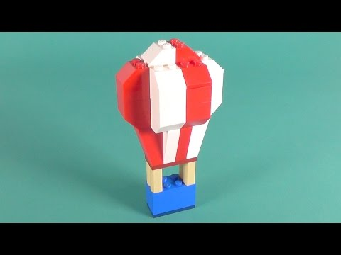 """Lego Hot-Air Balloon Building Instructions - Lego Classic 10705 """"How To"""""""