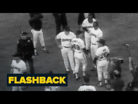 World Series Stopped By Loma Prieta Earthquake | Flashback | NBC News