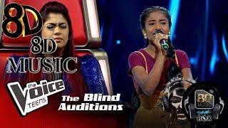 Divyanjali Anupama  Anthima Satane (අනතම සටන)  Blind Auditions  The Voice Teens Sri Lanka