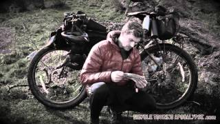 bikepacking wales on a surly ecr