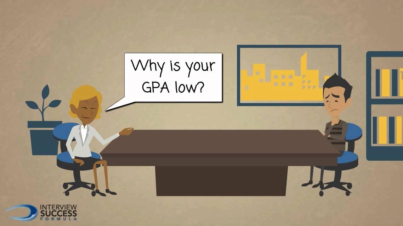justifying low gpa