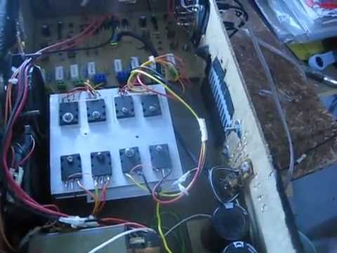 Amplificador De 400w Complementario (ISTDG)