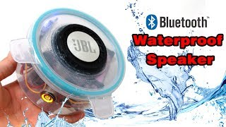 How to make Waterproof Bluetooth Speaker at home