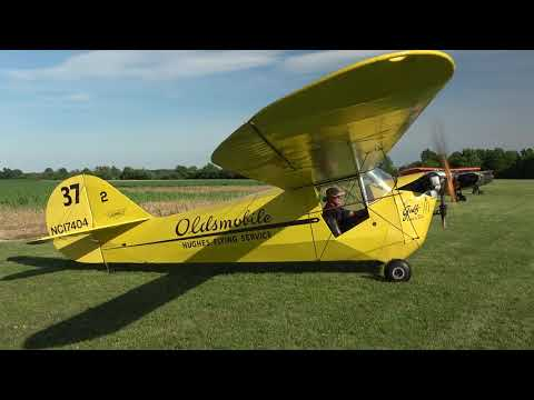 1936 AERONCA C3 MASTER - Golden Age Air Museum - Bethel, Pa.