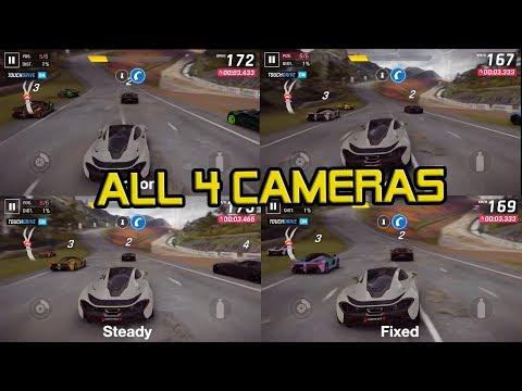 Asphalt 9 Legends: All 4 Camera Views - Видео с YouTube на