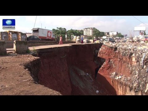 Anambra State Govt Seeks FG Intervention On Erosion -- 19/10/15