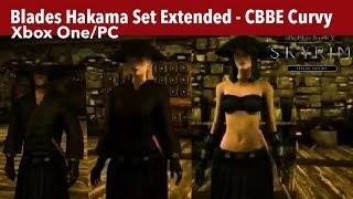 Skyrim SE Xbox One/PC Mods|Blades Hakama Set Extended
