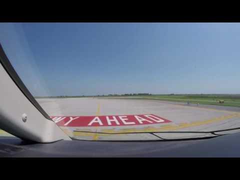 Venice to Pisa - Bombadier Challenger 300 - GoPro 4K