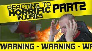 REACTING TO HORRIFIC INJURIES PART 2 - **WARNING** KEVIN WARE INJURY