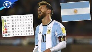 Messi et l'Argentine au bord du gouffre   Revue de presse