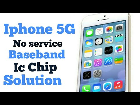iphone 5g baseband chip no service searching network.