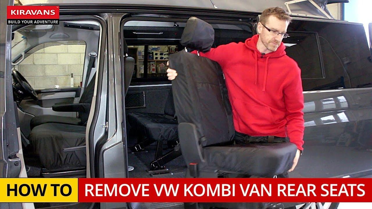 How To Remove Vw Kombi Van Rear Seats Youtube