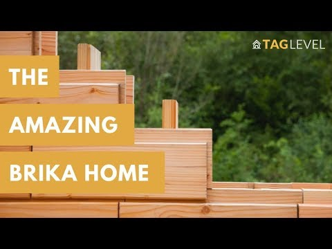 Brikawood Prefab Home The Amazing Concept Wooden Brick Home Built