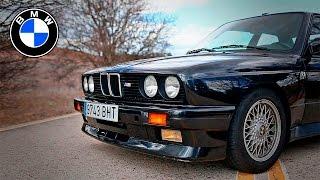 BMW M3 E30 Evo 1, en Vídeo(Alberto nos cuenta la historia de su BMW M3 E30 Evo 1, uno de los 505 ejemplares. Se trata de la primera evolución del mítico BMW M3 E30; cuesta ..., 2016-05-04T15:27:35.000Z)