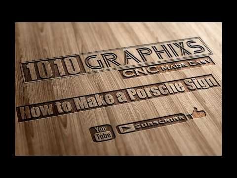 CNC Project:  How to Make A Wooden Sign with a CNC Machine - 30 second Intro