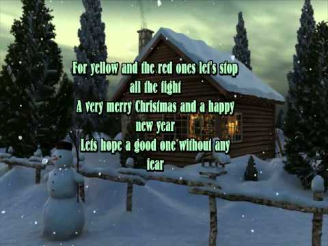 Celine Dion And So This Is Christmas Youtube