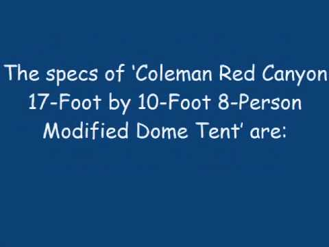 Camp Tent Reviews: Coleman Red Canyon Tent 3 Room 8 Person