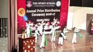 The spirit school function.