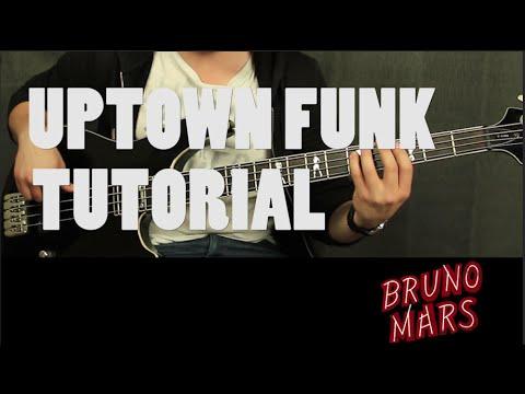 """Como tocar """"Uptown Funk"""" de Bruno Mars - Tutorial Bajo (HD)"""