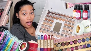 PART 2 These Makeup Swatches Tho!! Ur Going To Run To Sephora/Ulta!! Makeup PR Unboxing