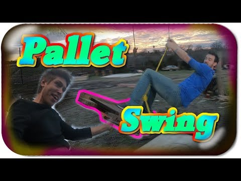 DIY PALLET SWING! Let's Vlog! [ 2019 ]