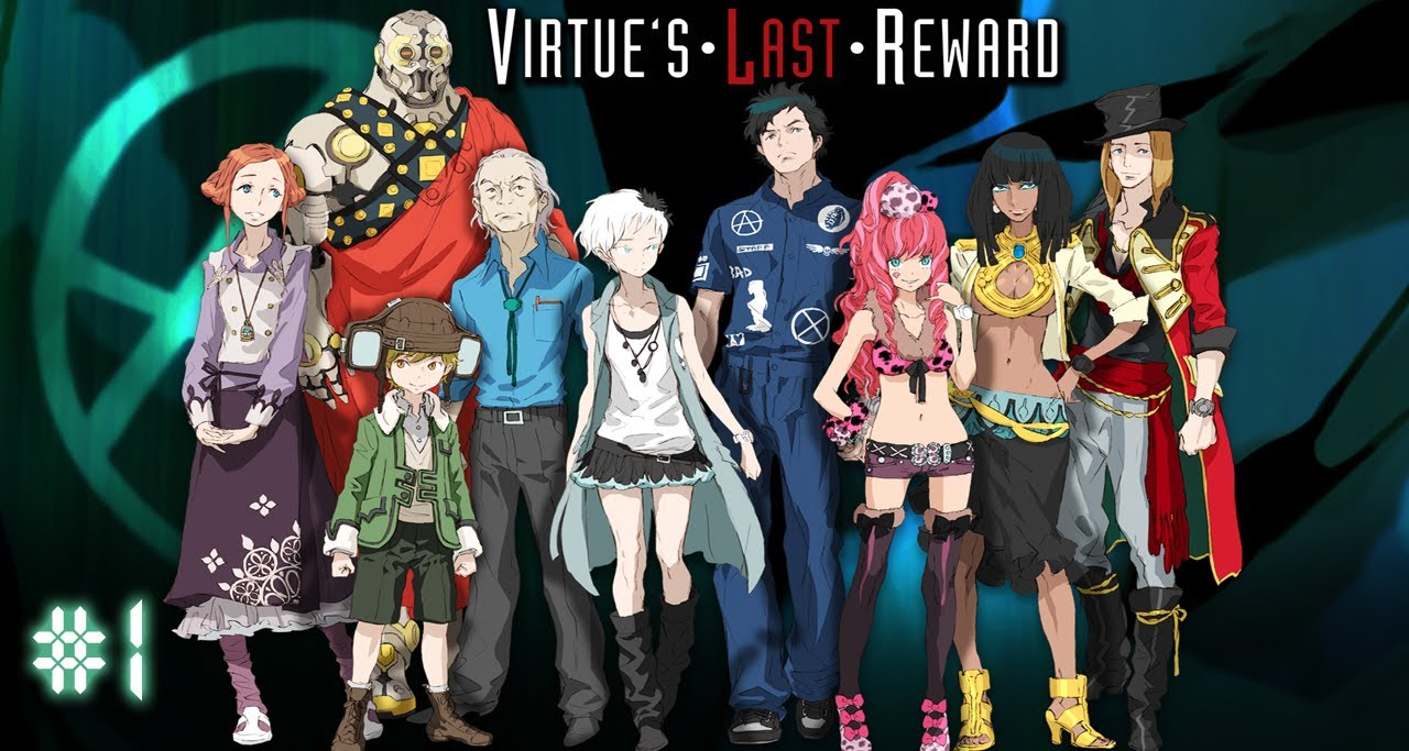 Let S Play Zero Escape Virtue S Last Reward 3ds Vita