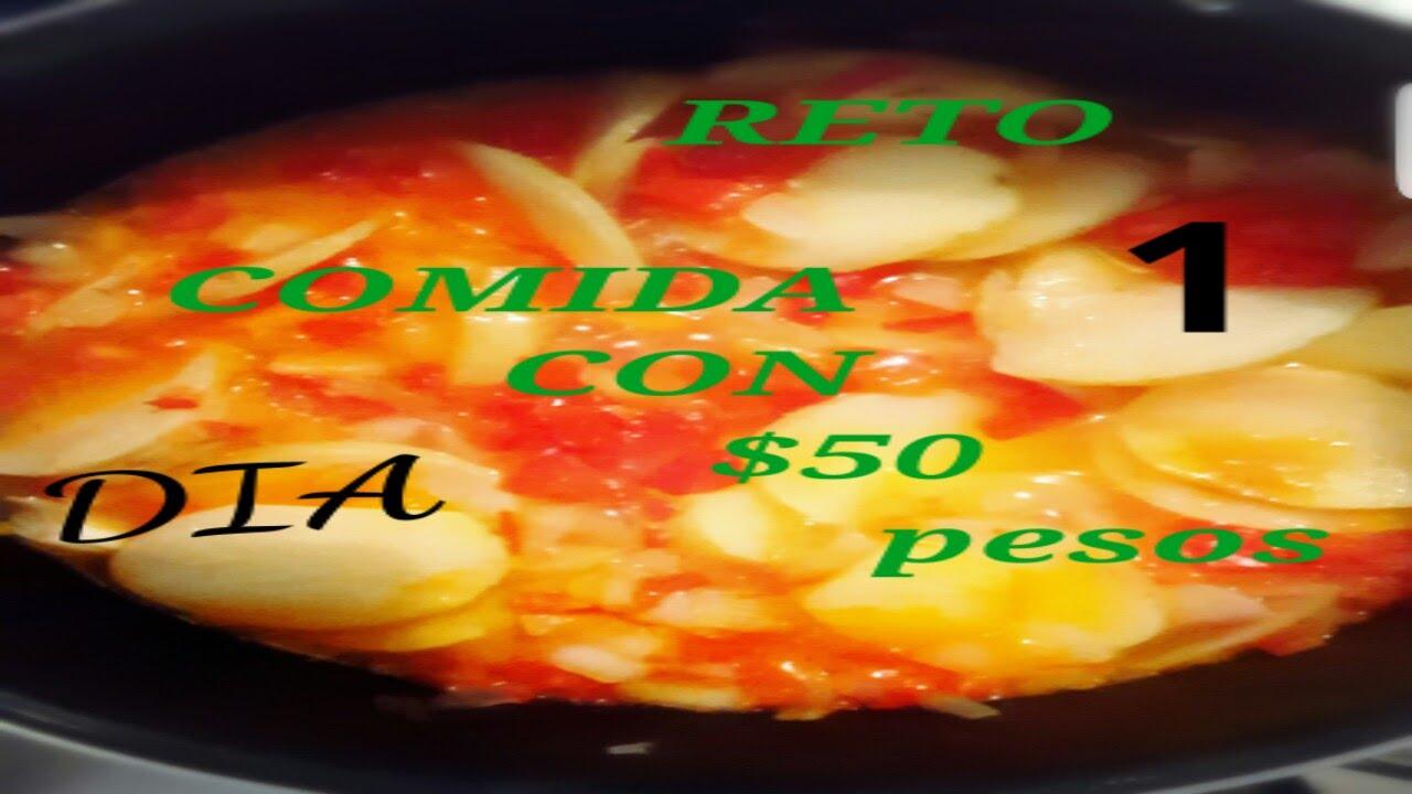 rica comida con tan solo 50 pesos youtube