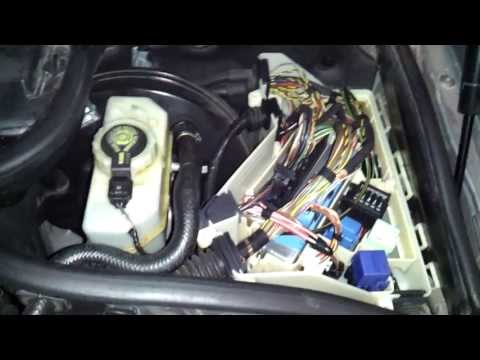 e46 relay box location under hood youtube 1999 bmw 528i fuse box location 2002 bmw 330ci fuse box location #11