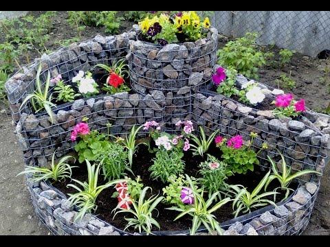 Hand made - клумба для цветов