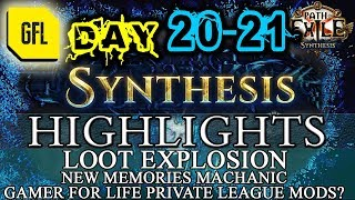 Path of Exile 3.6: SYNTHESIS DAY # 20-21 Highlights LOOT EXPLOSION, NEW MEMORY MECHANICS
