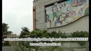INSIDE PHASE 6, KH E BADAR, HILAL, SABA AVENUE RAHAT DHA KARACHI PAKISTAN PROPERTY REALESTATE 2017 Video