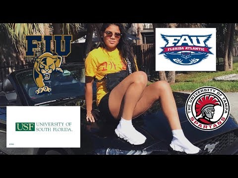 FAU,FIU,USF, AND UT COLLEGE TOUR 🔥 !!!( WHICH COLLEGE DID I LIKE BEST IN FLORIDA 👀!!)