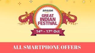 Amazon Diwali Sale Offers On Smartphones With Buying Links
