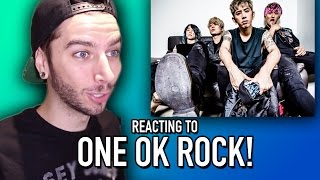 Watch as I REACT to a band known as ONE OK ROCK!!! REACTION PLAYLIS...