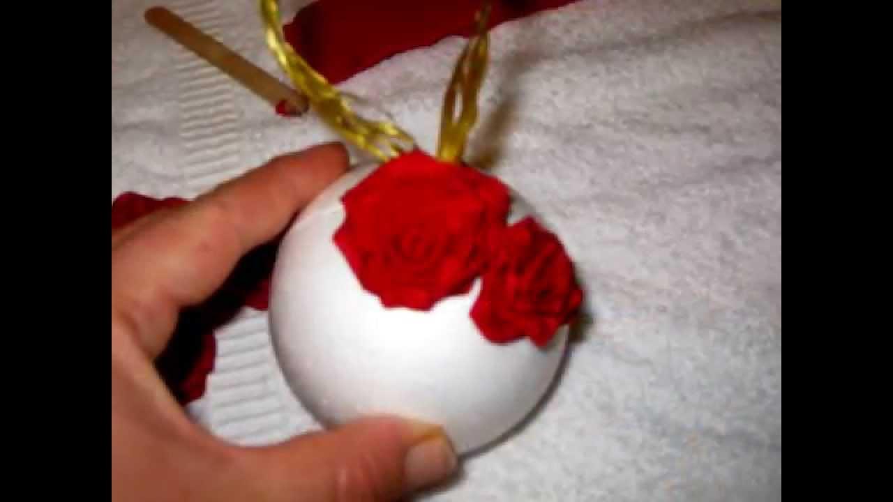 Rose con tovaglioli di carta youtube - Decorazioni con fazzoletti di carta ...