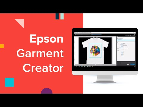 Epson Garment Creator Features - YouTube