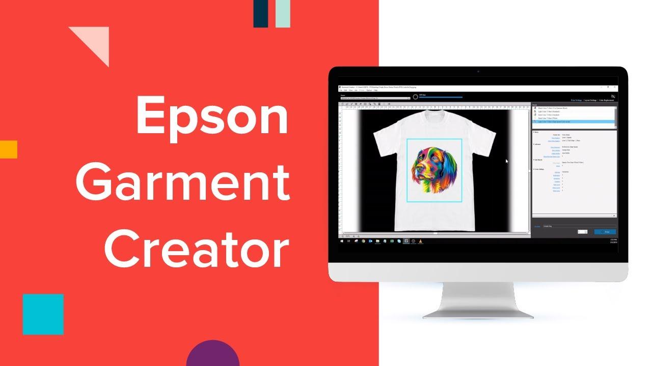 Epson Garment Creator Features