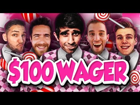 GOLF WITH  FRIENDS $100 CANDY WAGER