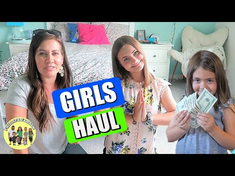 MASSIVE GIRLS CLOTHING HAUL  | MOTHERS DAY & BIRTHDAY PRESENTS
