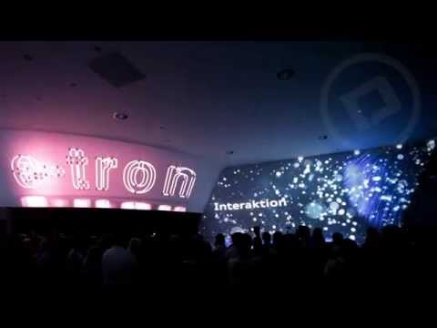 Audi Centre opening. 3D Mapping, Dance Multimedia show, Laser Girls show.