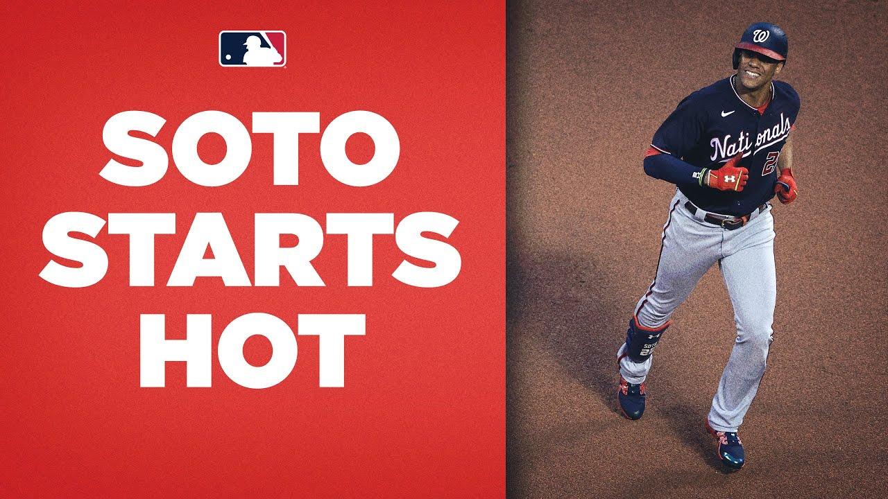 Juan Soto three-run SMASH against Mets! (Red-hot Soto gets scoring going)